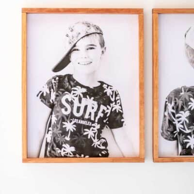 EASY DIY PICTURE FRAME UNDER $5