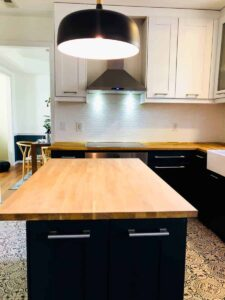 How to seal butcher block countertops!