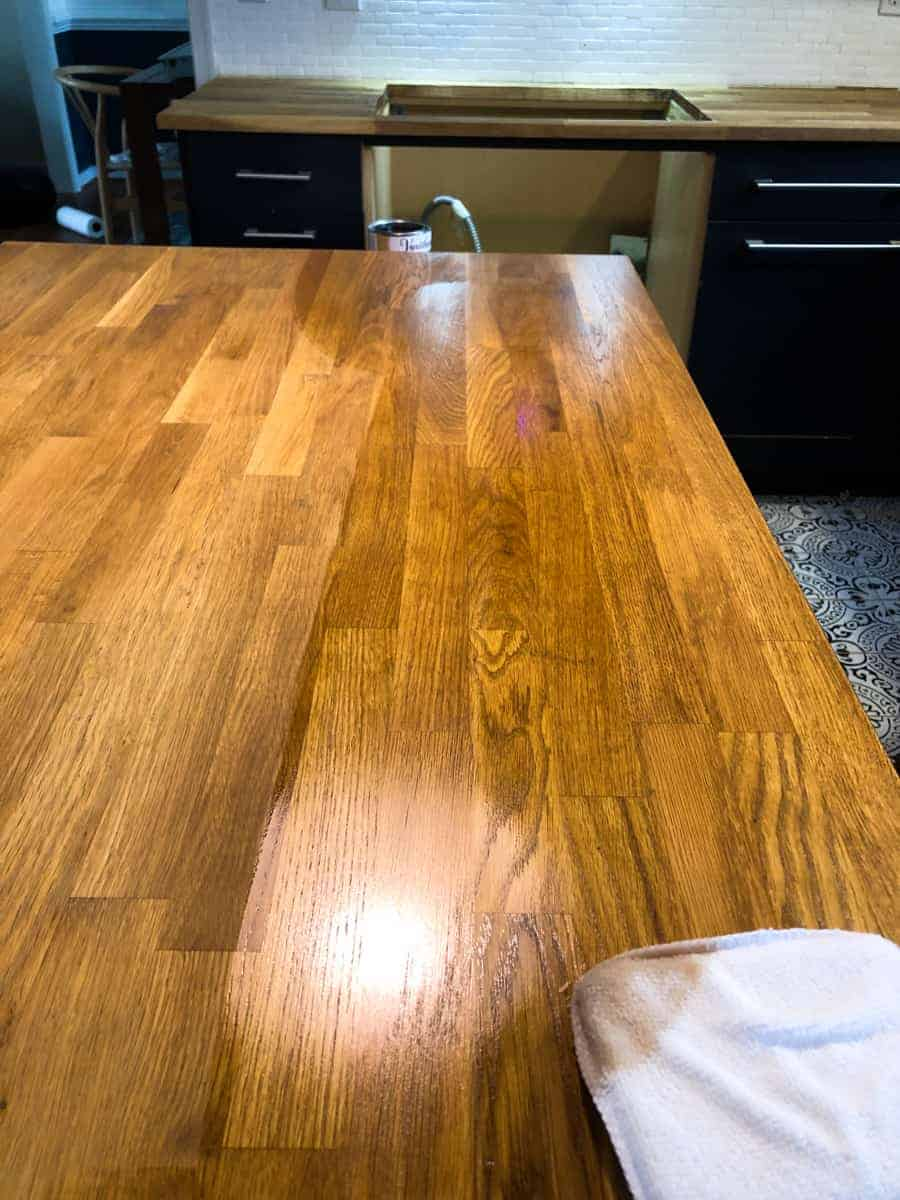 How To Seal Butcher Block Countertops