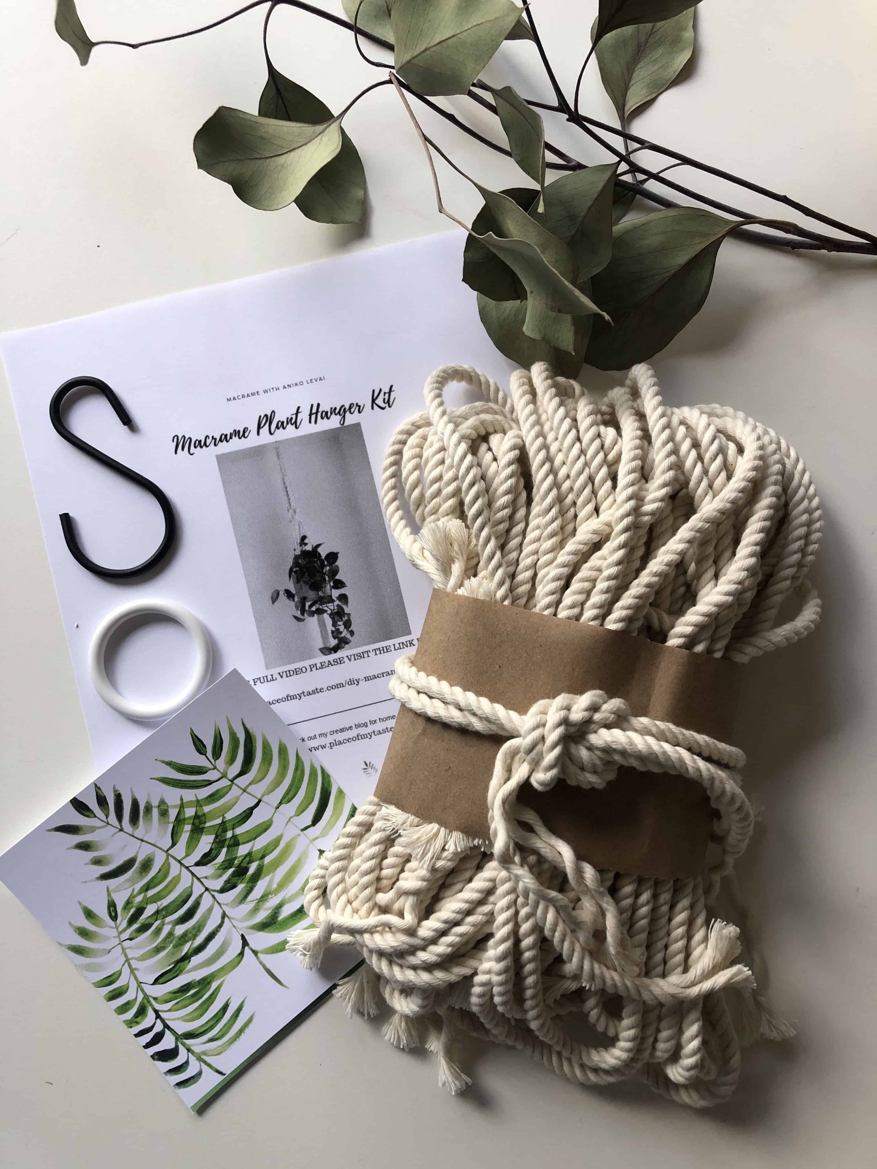 Cool DIY Macrame Plant Hanger