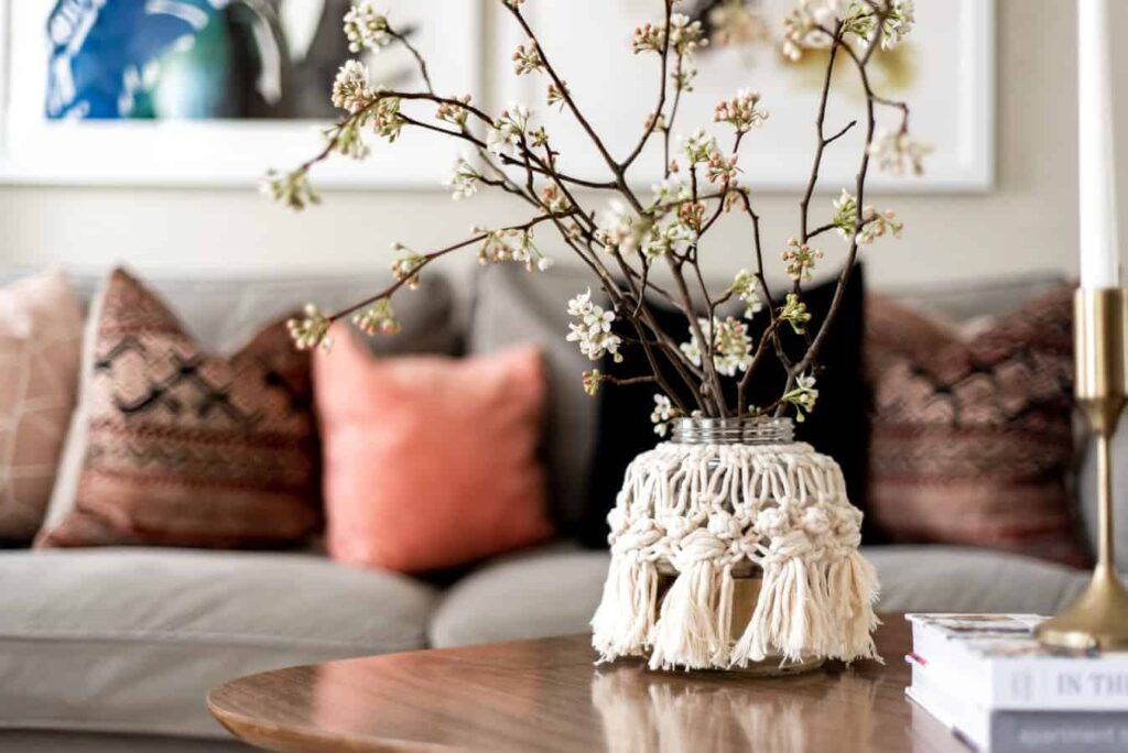 Macrame Vase Cover