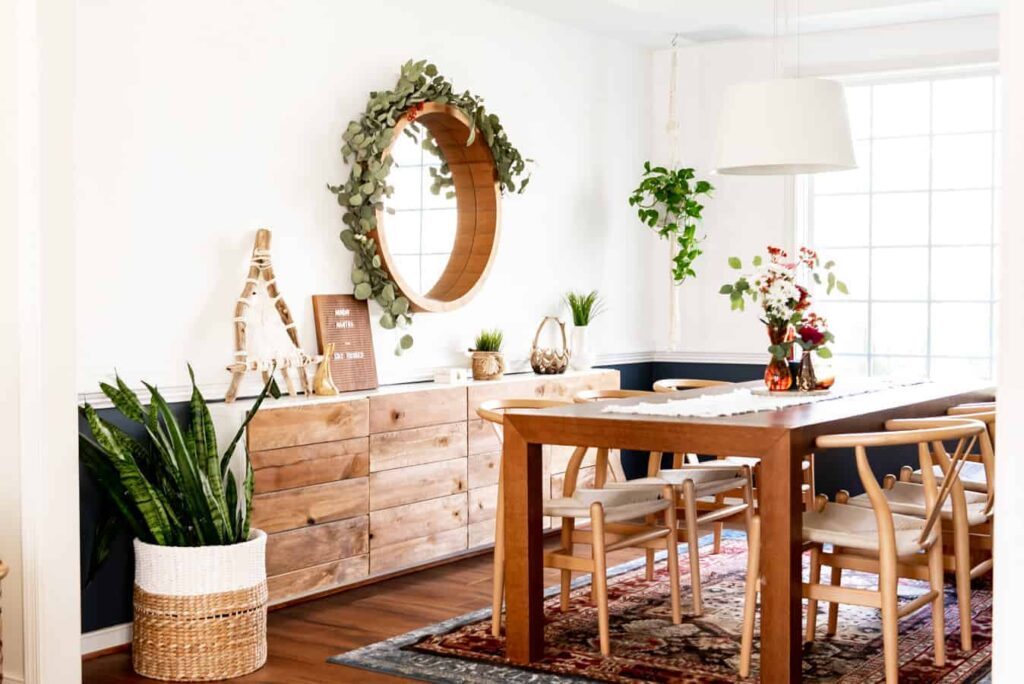 Beautiful Boho Dining Room decor