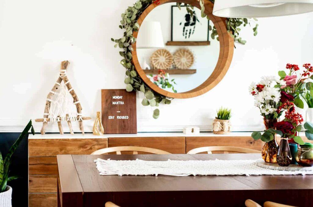 Beautiful Boho Dining Room decor