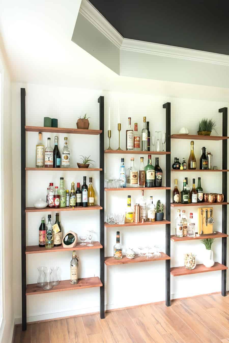 Diy Wall Shelving Bar