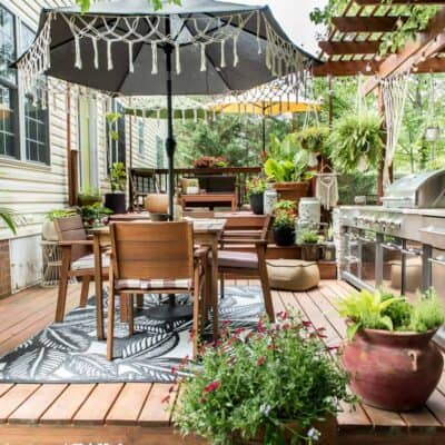 BOHO PATIO REFRESH