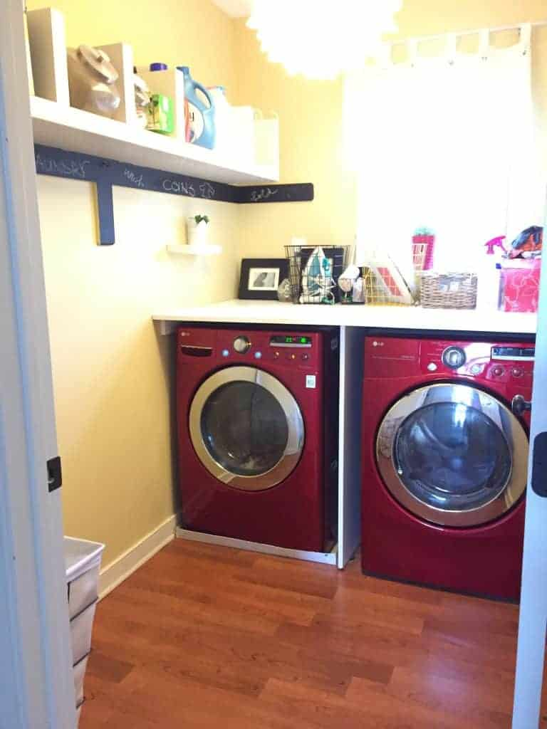 Small Laundry Room Makeover Place Of My Taste