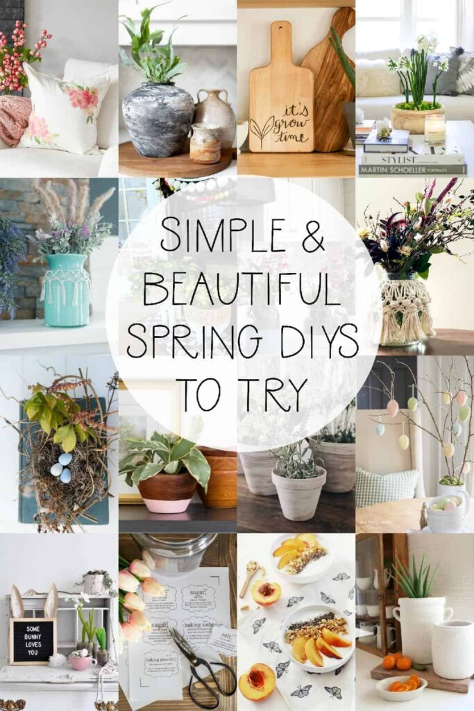 Fun and gorgeous DIY spring ideas.