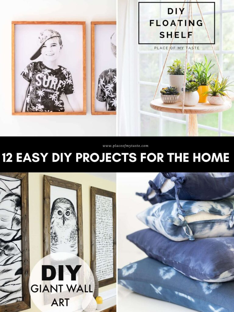 Try these fun and easy DIY projects for the home.
