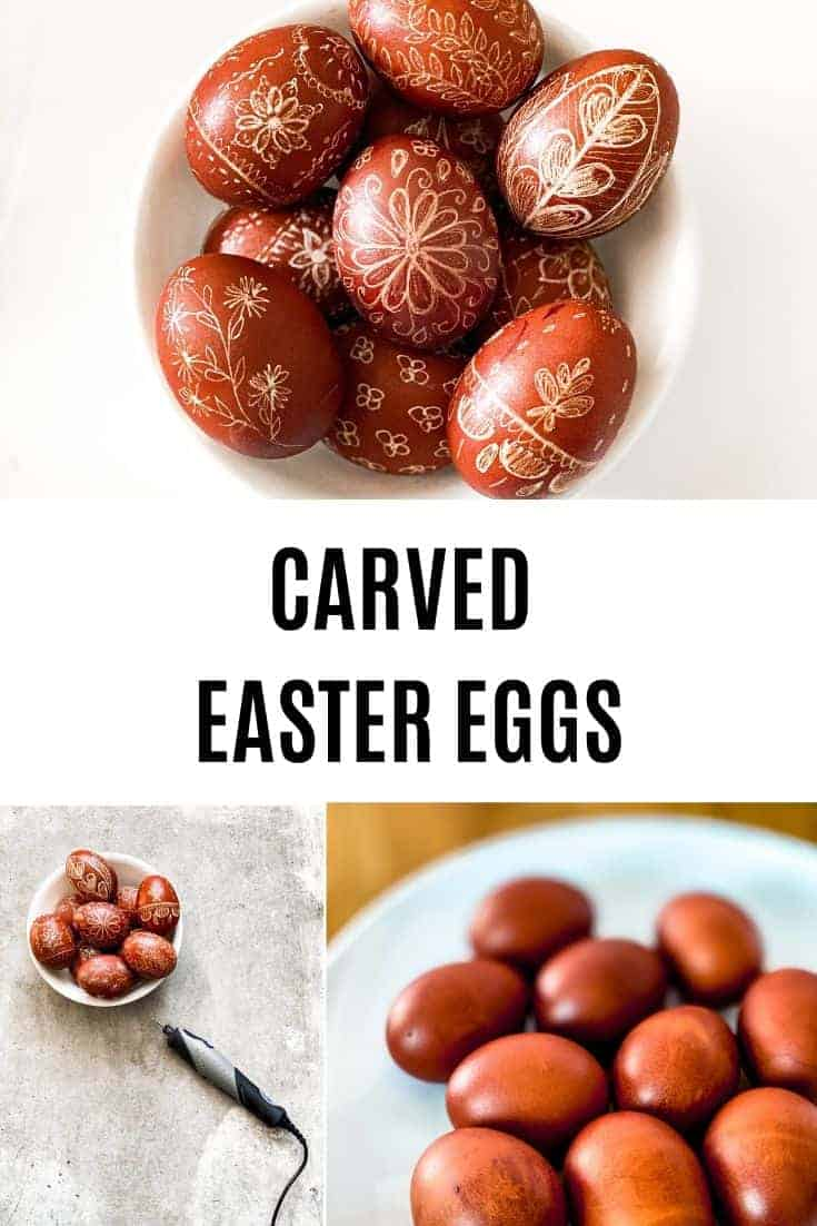 CARVED EASTER EGGS