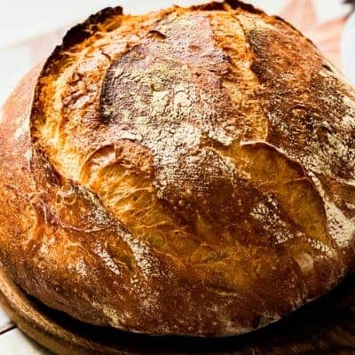 HOMEMADE ARTISAN BREAD RECIPE