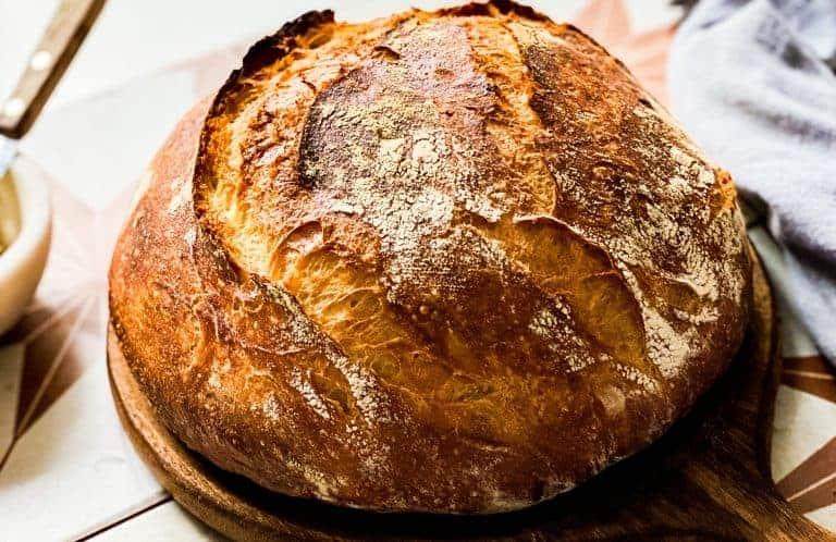 HOMEMADE ARTISAN BREAD RECIPE