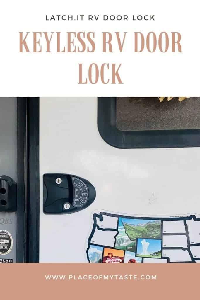 keyless RV door lock